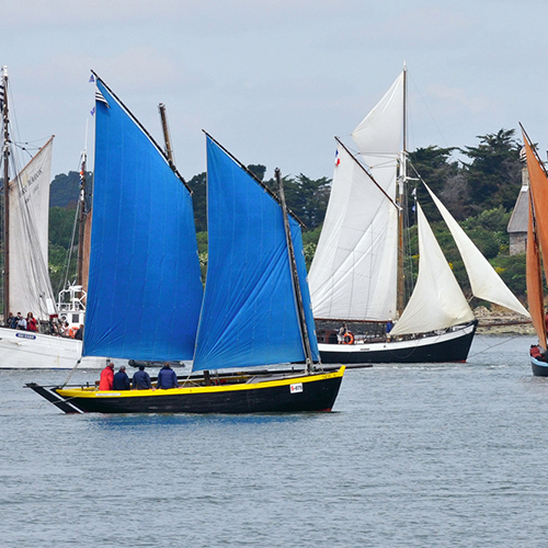 Cordes et voiles de toile pour bateaux