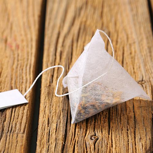Le chanvre et les sachets de thé